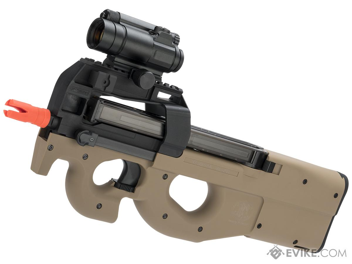 Cybergun FN Herstal Fully Licensed Gas Blowback P90 PDW (Color: Tan)