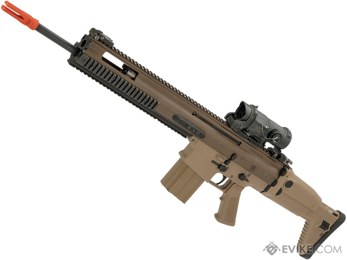 FN Herstal Licensed Full Metal SCAR-H Airsoft AEG Rifle by WE-Tech (Color: Tan / SSR)