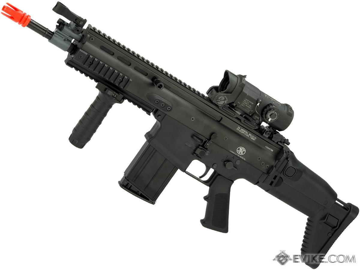 Cybergun FN Herstal SCAR-H CQB Licensed MK17 Gas Blowback Airsoft Rifle by  VFC (Color: Black)