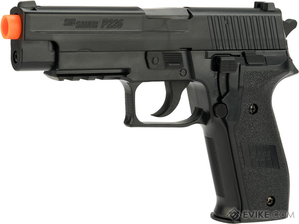 SIG Sauer Licensed P226 Spring Powered Airsoft Pistol (Color: Black)