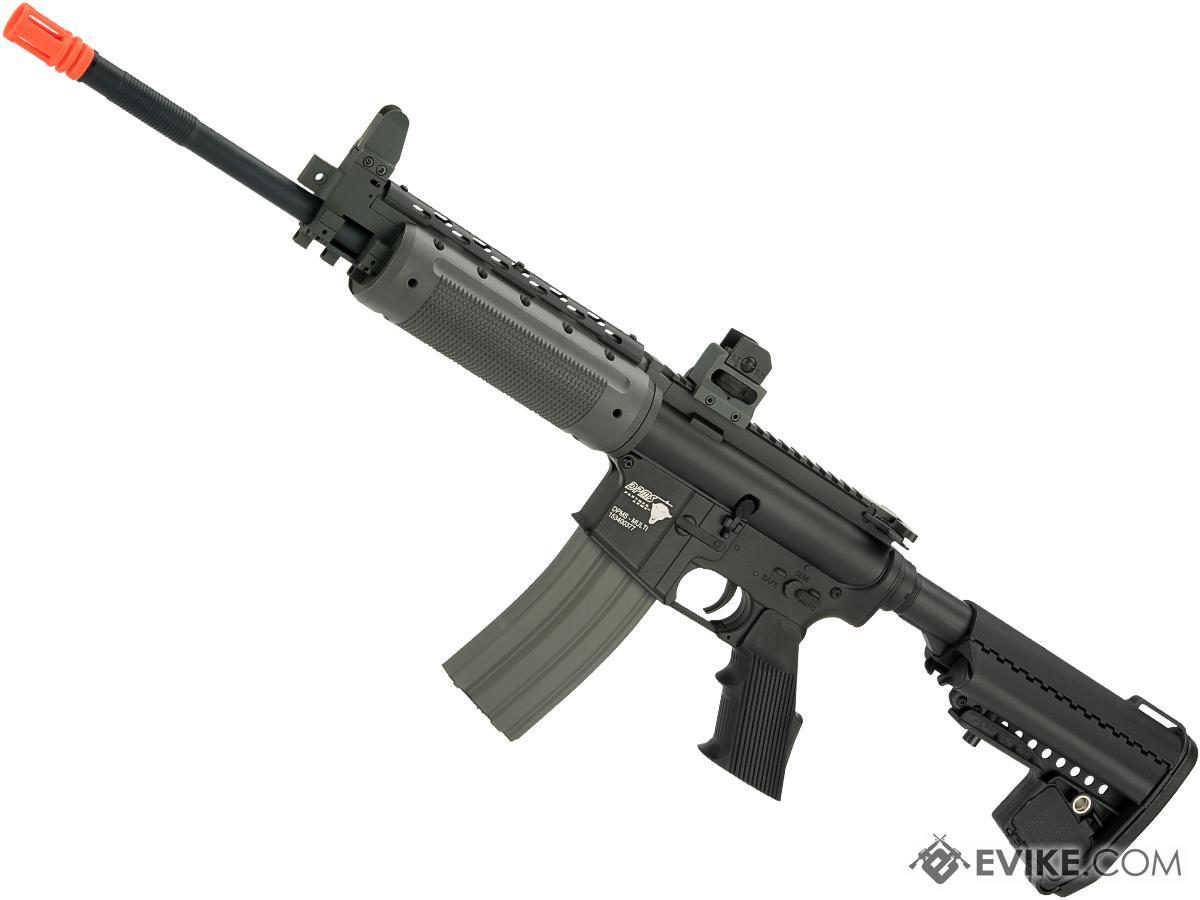 DPMS Panther Arms Licensed PAR300-L Full Metal Airsoft AEG Rifle by Cybergun (Model: Enhanced Stock)