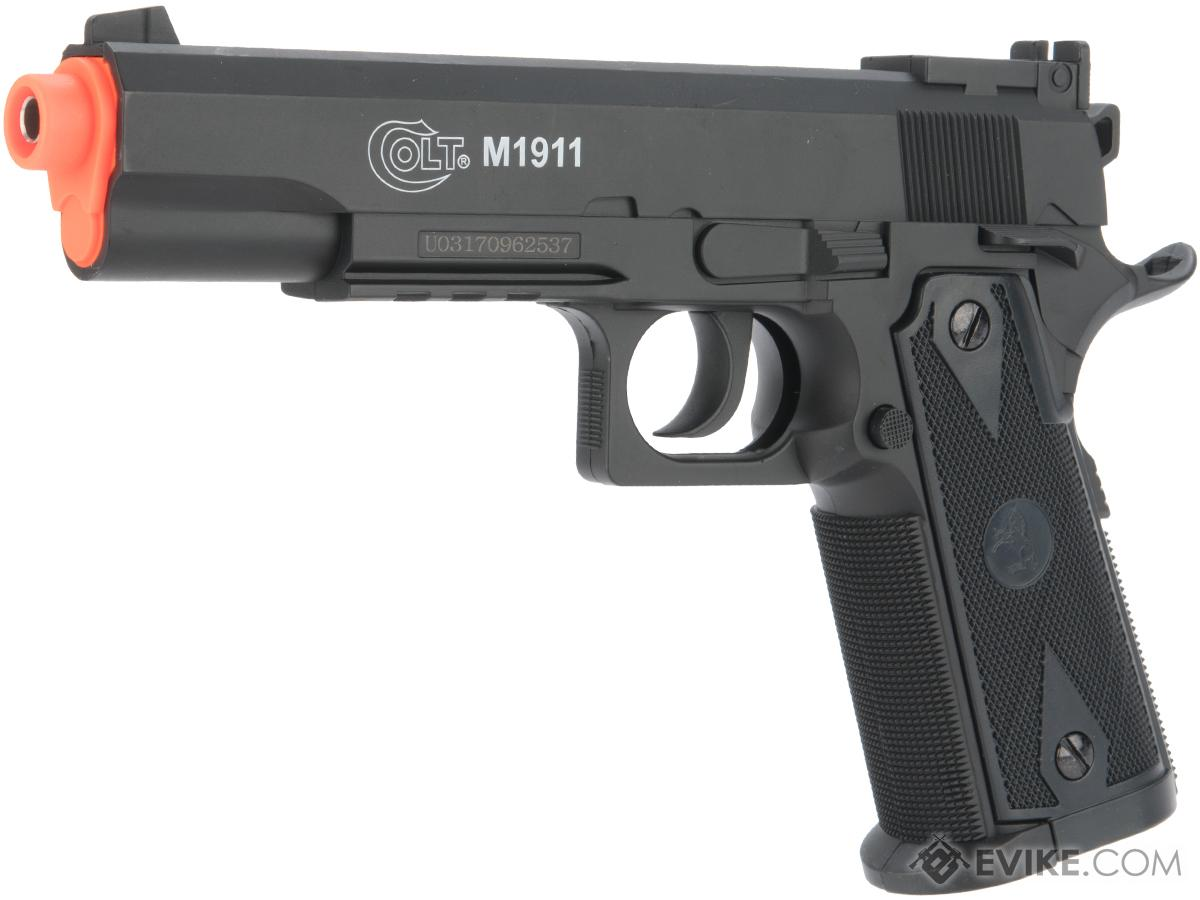 Colt 1911 Special Combat CO2 Powered Non-Blowback Airsoft Pistol by Softair