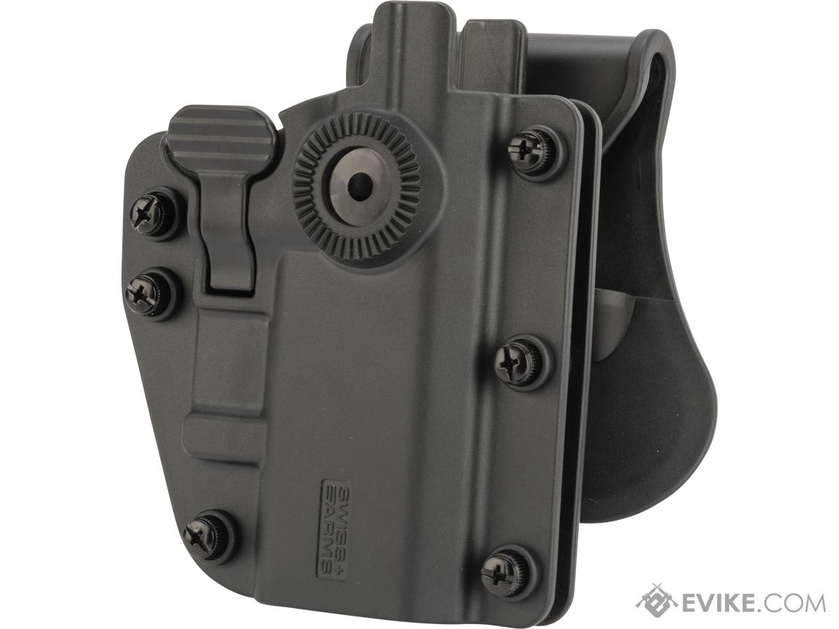 Swiss Arms ADAPTX Universal Holster by Cybergun (Color: Black)