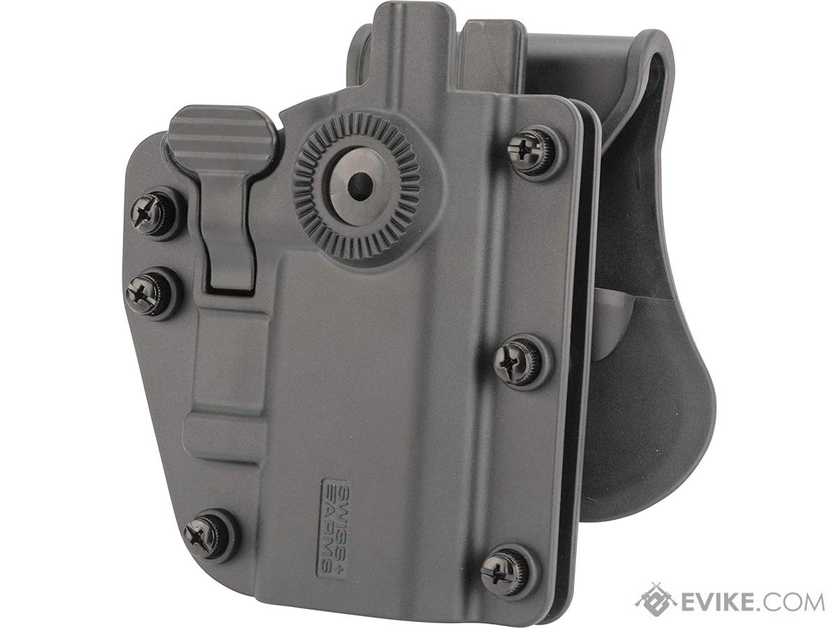 Swiss Arms ADAPT-X Level 3 Universal Holster by Cybergun (Color: Battle Grey)