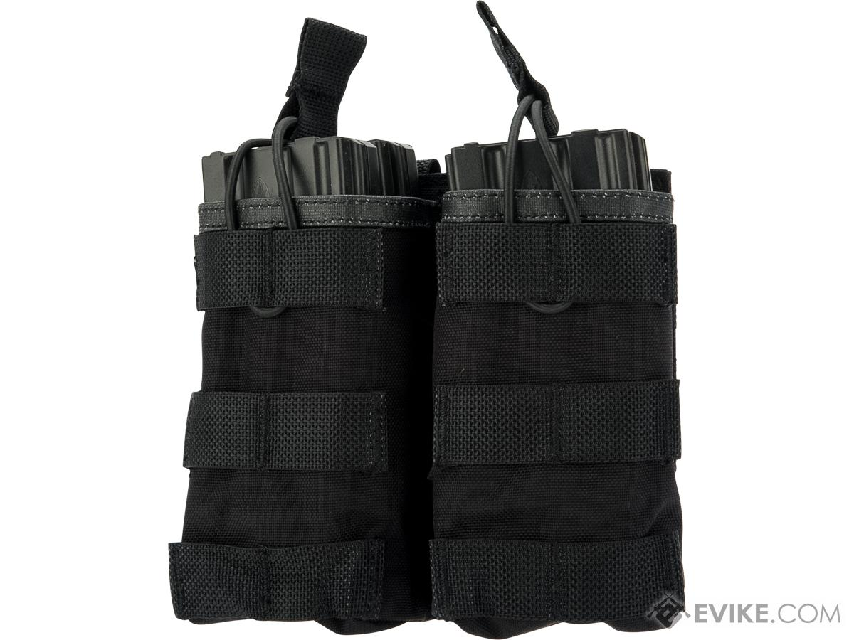Pantac USA Open-Top Double Mag Pouch (Color: Black)