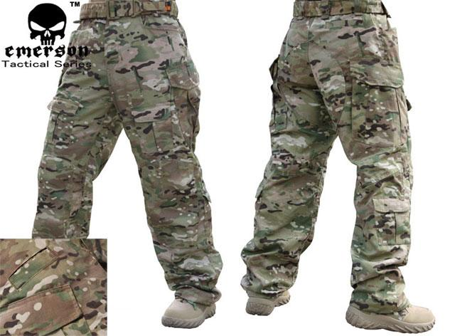 Emerson High Speed Combat Pants - Camo (Size: 32W)