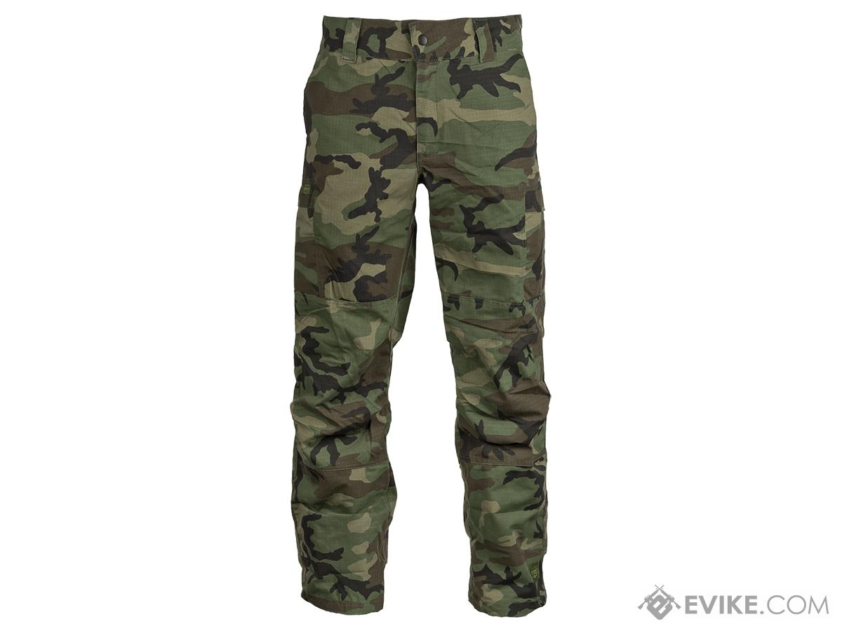 Valken Combat KILO Down Pants - Woodland (Size: Large)