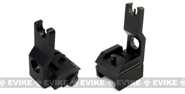 SR-15 Type Metal Flip-Up Front Sight (Weaver / Picatinny QD Mount)