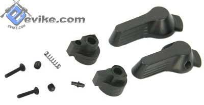 ICS Parts MI-11 Steel Fire Selector Set for ICS SIG552 / SIG551 Series Airsoft AEG