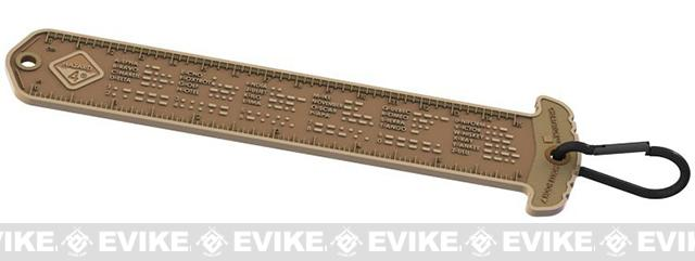 Hazard 4 Cheatstick #1 Morse/Ruler - Coyote