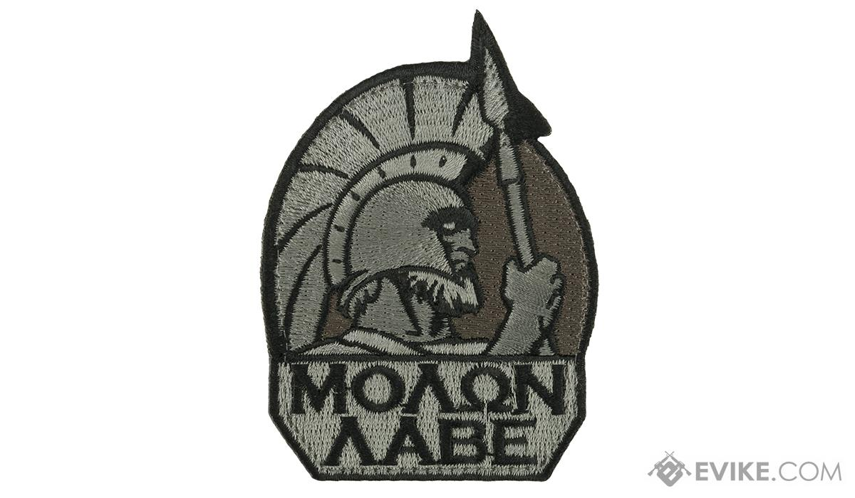 Mil-Spec Monkey Molon Labe Morale Patch (Color: ACU Dark)