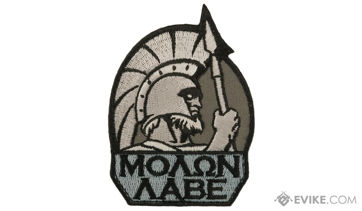 Mil-Spec Monkey Molon Labe Morale Patch (Color: SWAT)