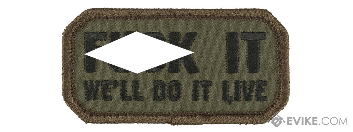 Mil-Spec Monkey Do it Live Morale Patch (Color: Forest)