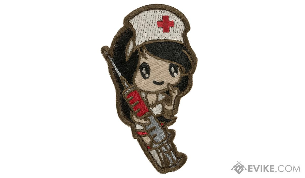 Mil-Spec Monkey Nurse Girl Morale Patch (Color: Subdued)