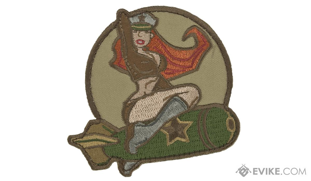 Mil-Spec Monkey Pin-up Girl #1 Morale Patch (Color: Arid)