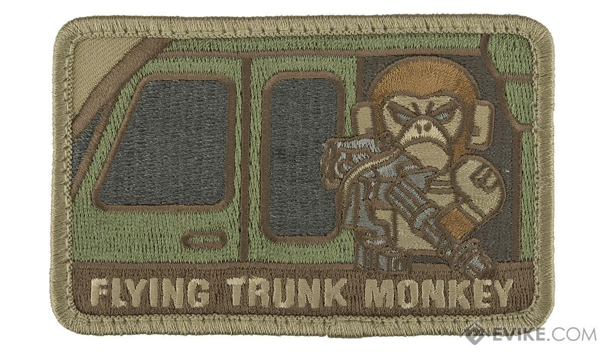 Mil-Spec Monkey Tactical Trunk Monkey Hook and Loop Patch(Color: Multicam)