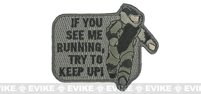 Mil-Spec Monkey EOD Running Morale Patch - ACU