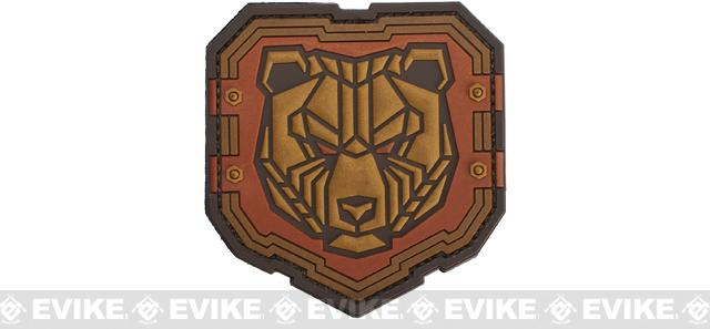 Mil-Spec Monkey Industrial Bear PVC Patch - Bronze