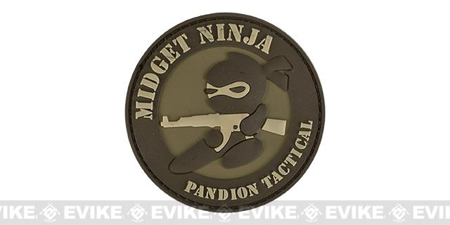 Mil-Spec Monkey Midget Ninja AK PVC Patch - Desert