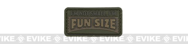 Mil-Spec Monkey Fun Size PVC Hook and Loop Patch - Forest