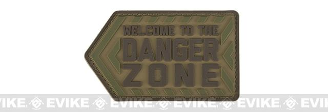 Mil-Spec Monkey Danger Zone PVC Morale Patch - Multicam