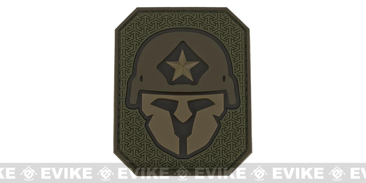 Mil-Spec Monkey Modern Spartan PVC Patch - Forest
