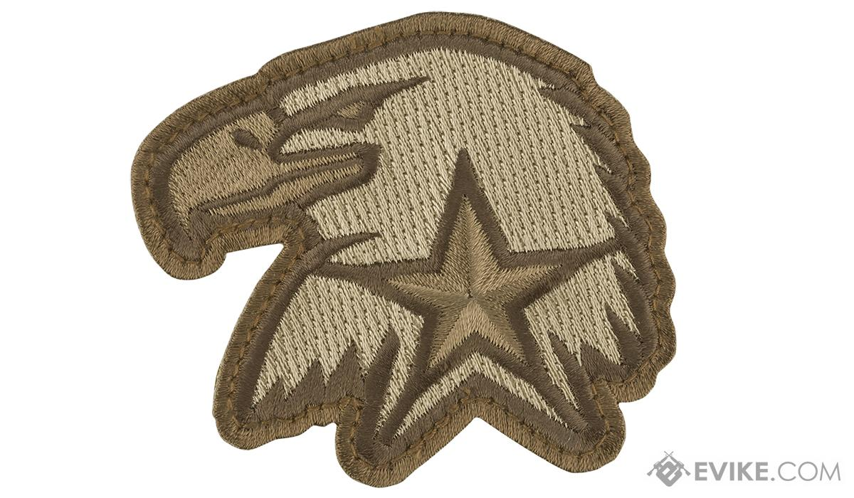 Mil-Spec Monkey Eagle Star Morale Patch (Color: Desert)