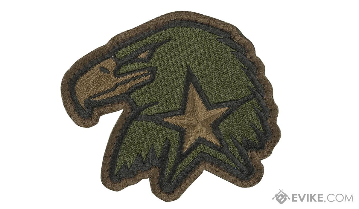 Mil-Spec Monkey Eagle Star Morale Patch (Color: Forest)