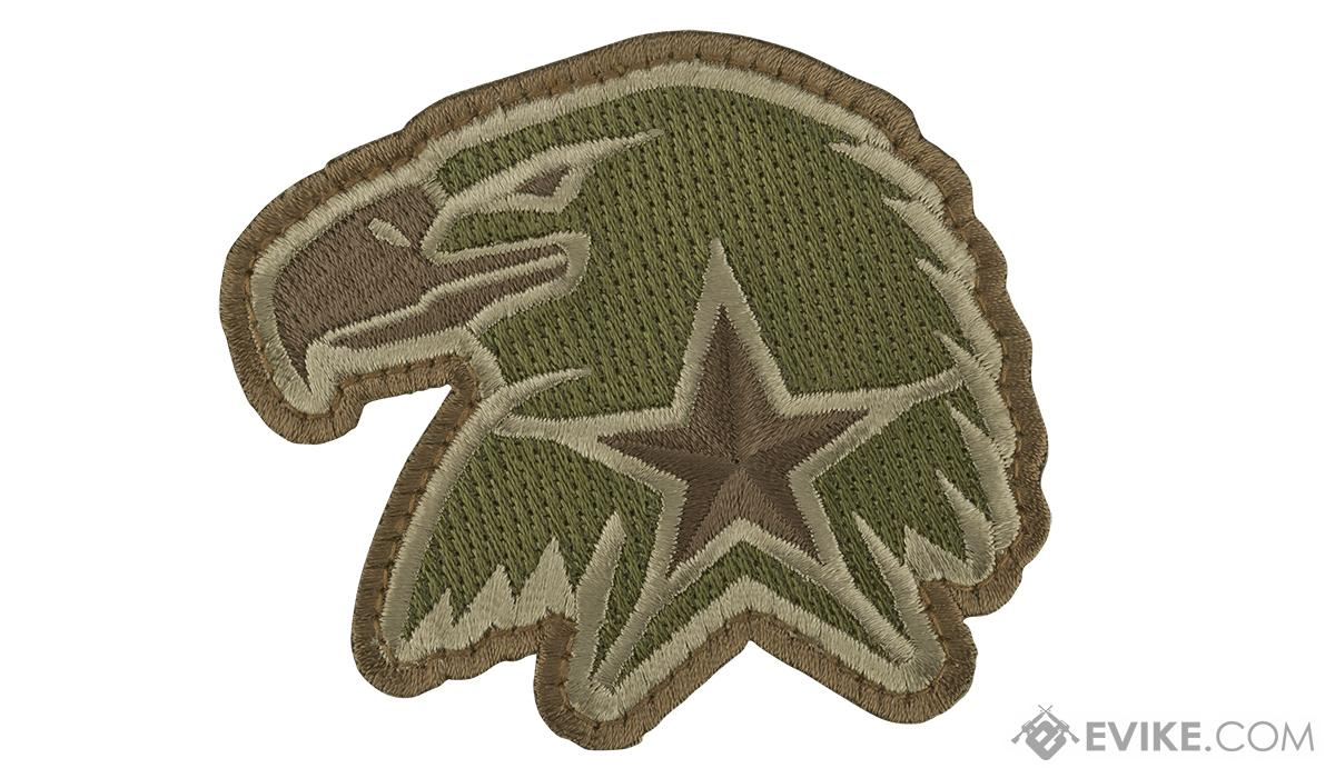 Mil-Spec Monkey Eagle Star Morale Patch (Color: Multicam)
