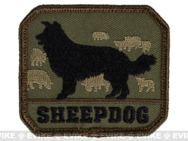 Mil-Spec Monkey Sheepdog Hook and Loop Patch - Forest