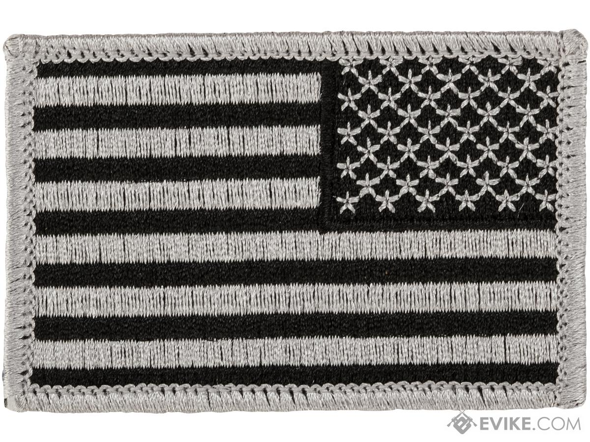 Matrix Hook and Loop U.S. IFF Flag Patch (Color: SWAT/ Reversed)
