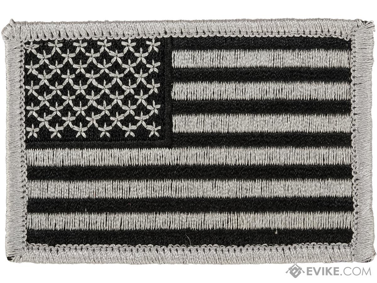 Matrix Hook and Loop U.S. IFF Flag Patch (Color: SWAT / Reversed)