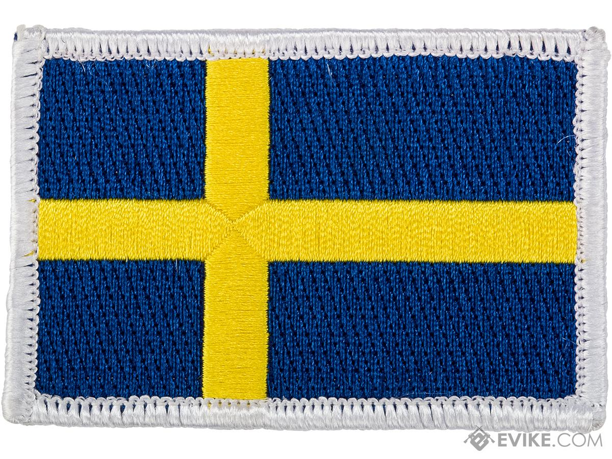 Matrix Hook and Loop Morale Patch (Country: Sweden)