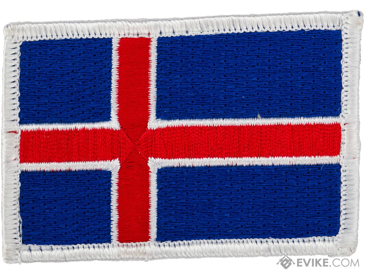 Matrix Hook and Loop Morale Patch (Country: Iceland)