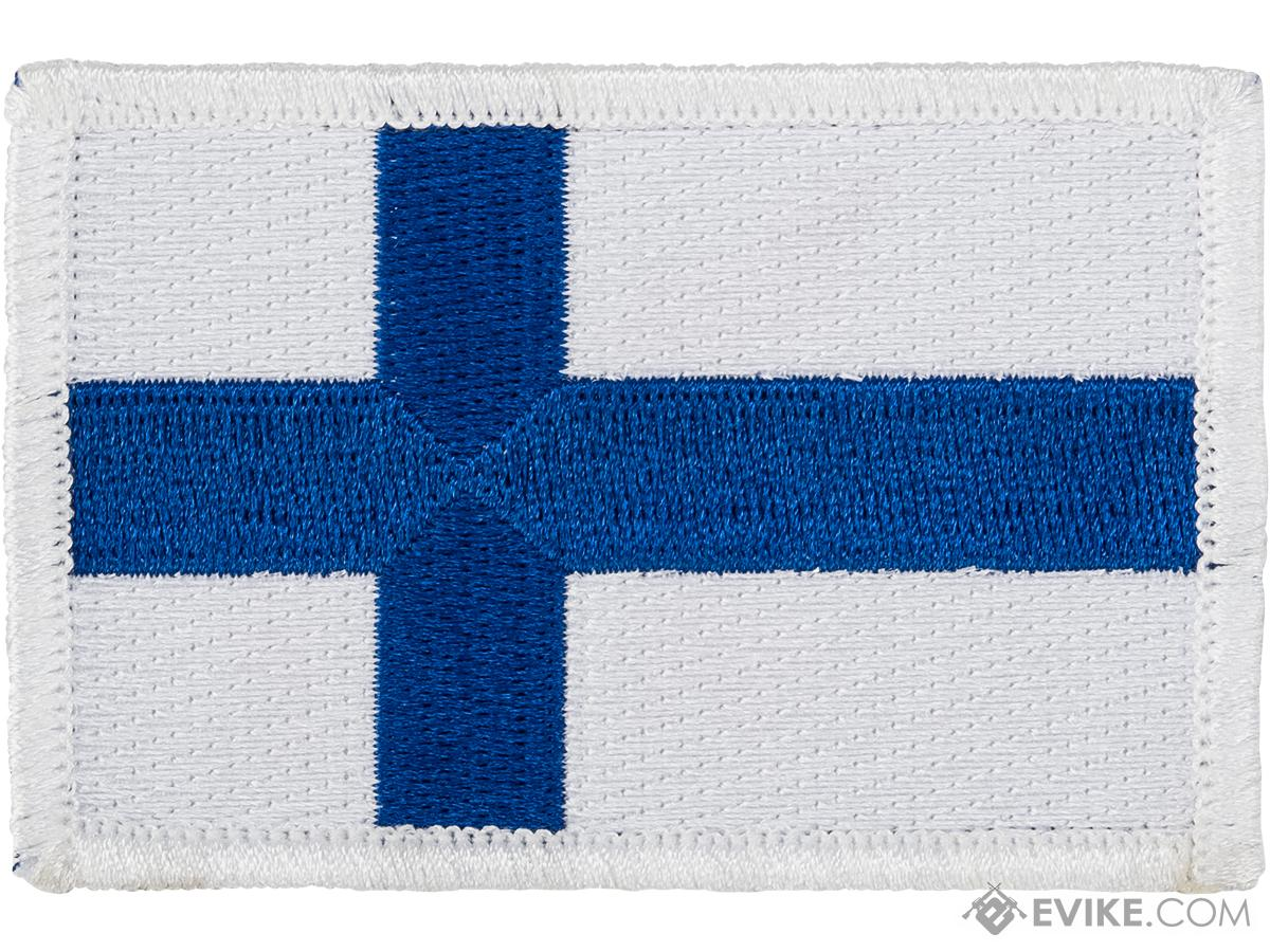 Matrix Hook and Loop Morale Patch (Country: Finland)