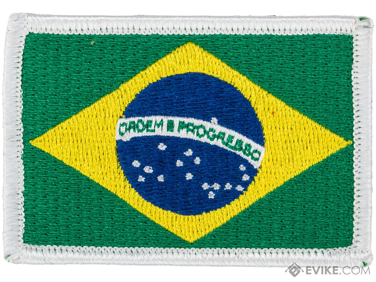 Matrix Hook and Loop Morale Patch (Country: Brazil)