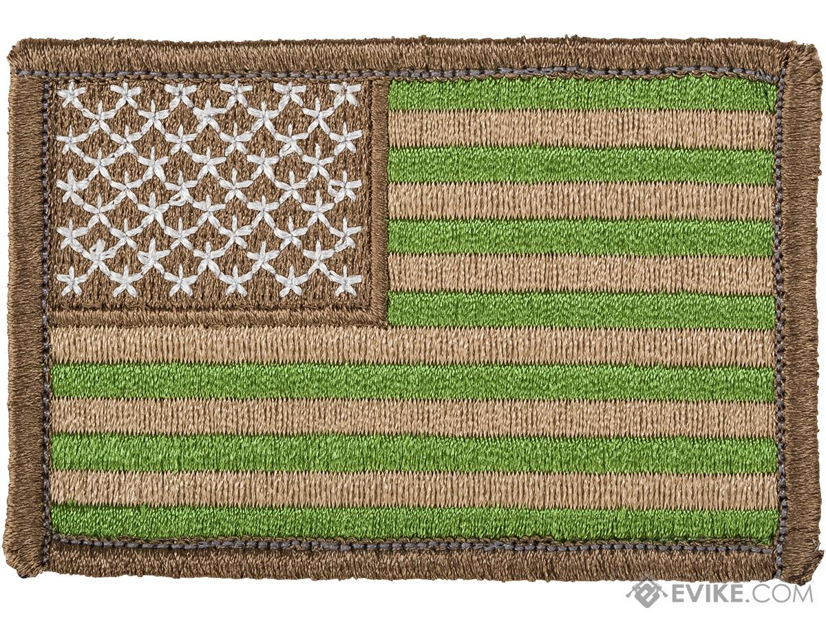 Matrix Hook and Loop U.S. IFF Flag Patch (Color: Subdued / Reversed)
