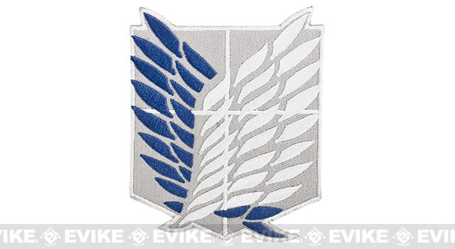 High Quality Embroidered IFF Hook and Loop Patch - Survey Corps