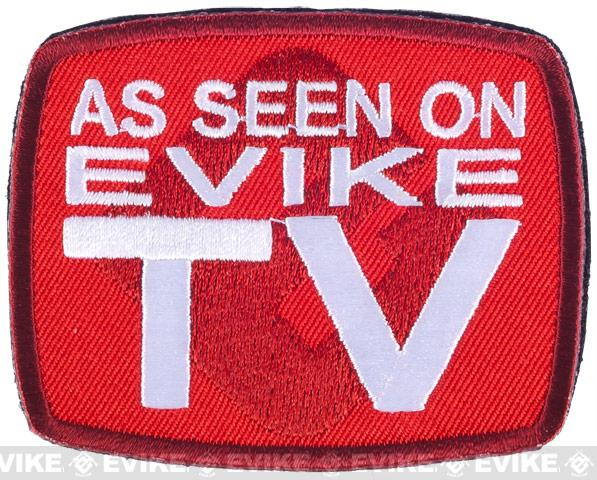 Evike TV As Seen on Evike TV IFF Hook and Loop Morale Patch
