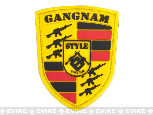 Evike Gangnam Style IFF Hook and Loop PVC Morale Patch
