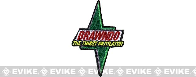 ORCA Industries BRAWNDO - The Thirst Mutilator Embroidered Patch