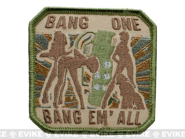 Mil-Spec Monkey Bang One, Bang Em All Patch - (Large / Arid)