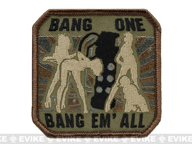Mil-Spec Monkey Bang One, Bang Em All Patch - (Large / Forest)