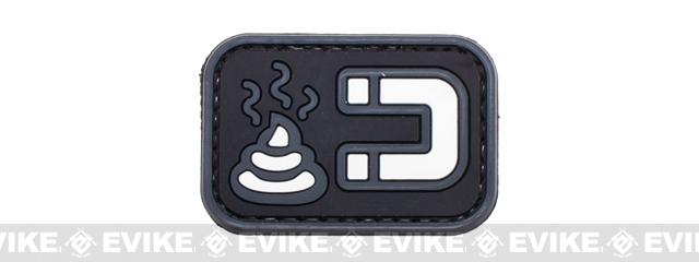 PVC Morale IFF Hook and Loop Patch - Poo Magnet