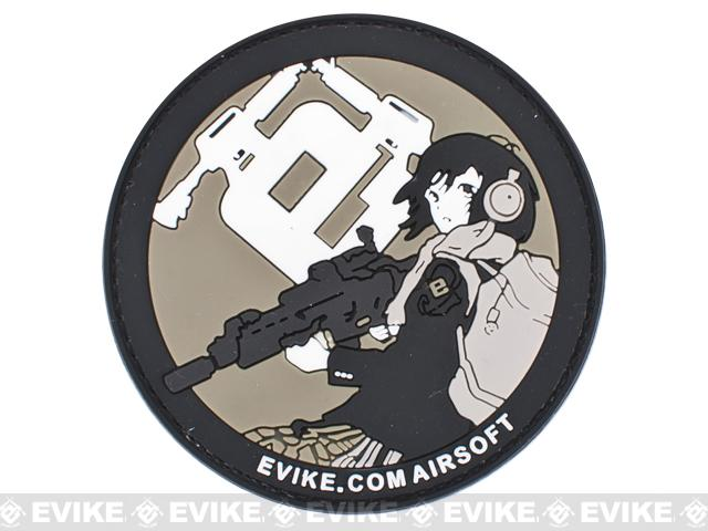 Evike.com Airsoft PVC IFF Hook and Loop Patch