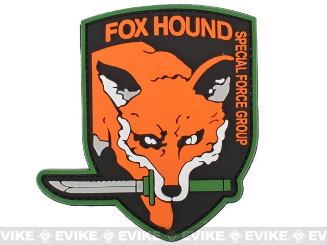Special Forces Group FOXHOUND PVC Patch
