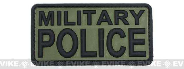 PVC Morale IFF Hook and Loop Patch - Military Police