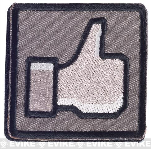 Matrix Thumbs Up 2 IFF Hook and Loop Morale Patch - Urban