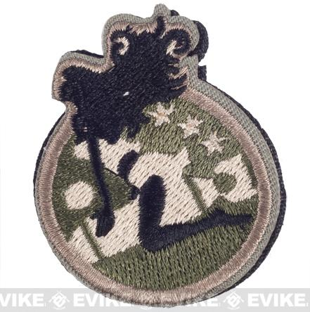 TMC Goddess IFF Hook and Loop Patch - Air Force
