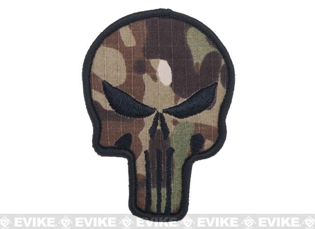 Matrix Woodland Skull Ripstop Morale Patch